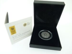 2011 Silver Proof WWF 50p coin