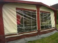 Sunncamp Prestige caravan awning size 7 800 - 825 cm