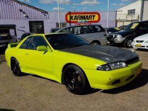 1990 Nissan Skyline HR32 GTS-T Green 5 Speed Manual Coupe North St Marys Penrith Area Preview