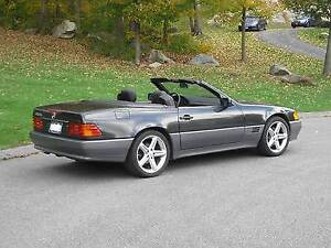1992 Mercedes-Benz 500 SL Black Convertible