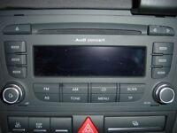 Audi A3 radio