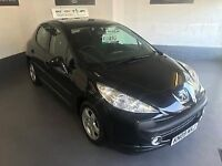PEUGEOT 207 SPORT 1.4/2009/ONLY 74 K MILES/WILL COME WITH A FULL MOT AND 3 MONTHS WARRANTY