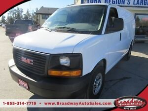 2016 GMC Savana READY TO WORK THREE-QUARTER TON 2 PASSENGER 4.8L