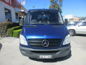 2009 Mercedes-Benz Sprinter NCV3 MY09 315CDI Blue 5 Speed Automatic 4D CAB CHASSIS