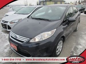 2012 Ford Fiesta FUEL EFFICIENT SE MODEL 5 PASSENGER 1.6L - DOHC
