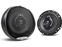 "Kenwood 6.5"" 3-Way Car Speaker 240 WATTS"