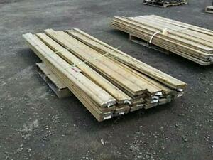 Large selection of Lumber at Bryan's Online Auction