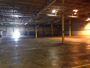 Large Warehouse space for lease
