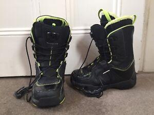 Salomon Snowboard Boots Size US7 Malvern Stonnington Area Preview