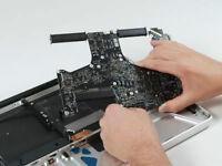 Liquid Spill Damage Repair Laptop Apple MacBook Retina iMac