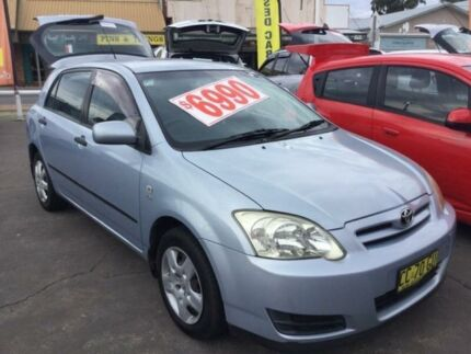 2005 Toyota Corolla ZZE122R 5Y Ascent Shimmer Automatic Hatchback