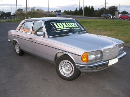 1983 Mercedes-Benz E280 Auto Sedan Fawkner Moreland Area Preview