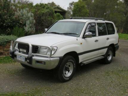 2000 Toyota LandCruiser Wagon