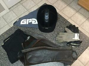 Horse back riding gear
