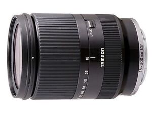 Tamron zoom lens 3.5 - 6.3 18-200 Di lll Vc for Sony E mount