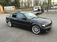 Bmw 320d breaking for spares or repairs (330d,e46,330i,saloon,325,318,bonnet,door,boot,engine)