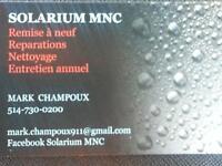 Solarium en Polymere