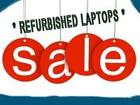 ** COMPUTER REPAIRS + HIGH QUALITY REFURBISHED LAPTOPS **