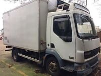 Daf truck fridge box 2003 refrigerator spares or repairs non runner easy fix