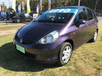 2007 Honda Jazz MY06 GLi Purple 5 Speed Manual Hatchback