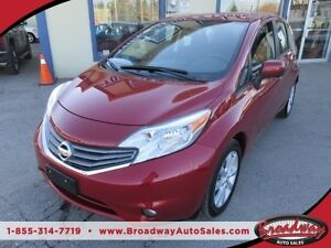 2014 Nissan Versa Note LOW KMS LOADED SL - NOTE EDITION 5 PASSEN