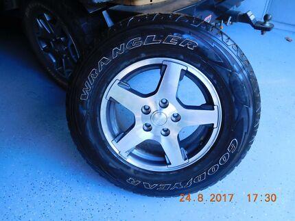 Jeep Grand Cherokee Rim & Tyre