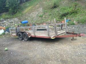 16' tandem utility trailer for sale