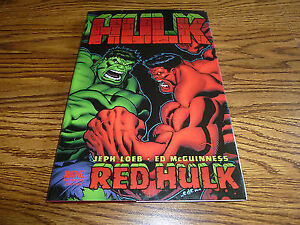 Marvel/Hulk-Red Hulk-Hardcover Graphic Novel-Like new