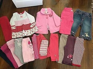 $1 Baby Girl New born to 12 mnths clothes