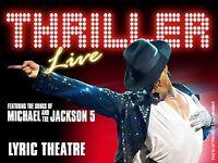 Thriller Live theatre tickets
