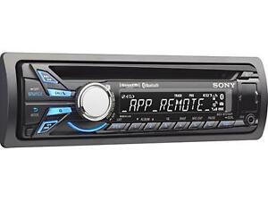 SONY Bluetooth Car AUDIO SYSTEM with Remote