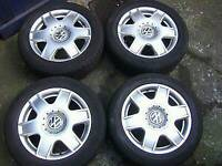 Vw bora alloy wheels