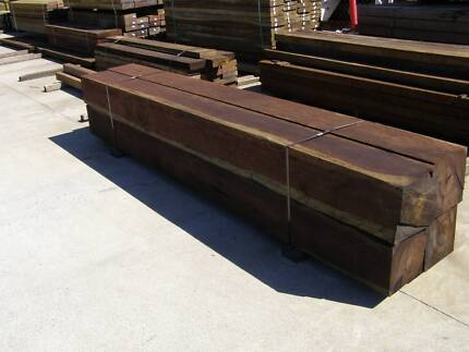 LARGE TIMBER HARDWOOD POSTS FROM