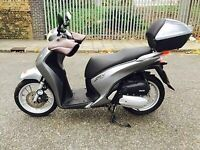 Honda SH 125 ABS **** Only 47 miles from new ***