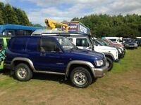 ISUZU TROOPER 2004 04 REG ISUZU TROOPER 3LITRE COMMERCIAL VAN 5SPEED MANUALSELLING SPAIR OR REPAIR