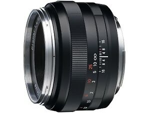 Carl Zeiss Planar 50 1.4 ZE Canon EF Mount
