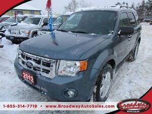 2012 Ford Escape 'GREAT VALUE' FUEL EFFICIENT XLT MODEL 5 PASSEN