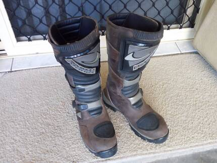Forma Adventure motorcycling boots in Mackay