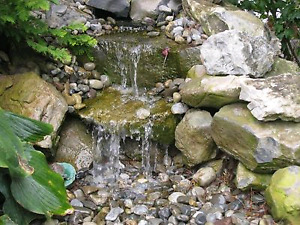 Want a waterfall in your garden?