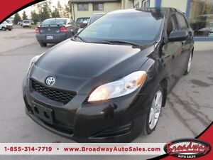 2010 Toyota Matrix FUEL SAVING XR EDITION 5 PASSENGER 2.4L - VVT