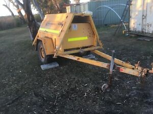 Backup power generator 10kva on trailer perkins diesel Nairne Mount Barker Area Preview