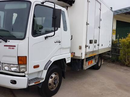 2008 MITSUBISHI FUSO FK 6.0 FIGHTER REFRIGERATED PANTECH