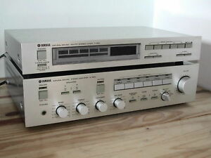 Yamaha A-500 amp with matching T-500 tuner London Ontario image 1