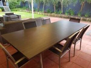 Large Brown Dining Table Leeming Melville Area Preview
