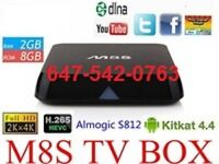★FULLY LOADED ANDROID TV BOX★ ,,,,,M8S..... ★