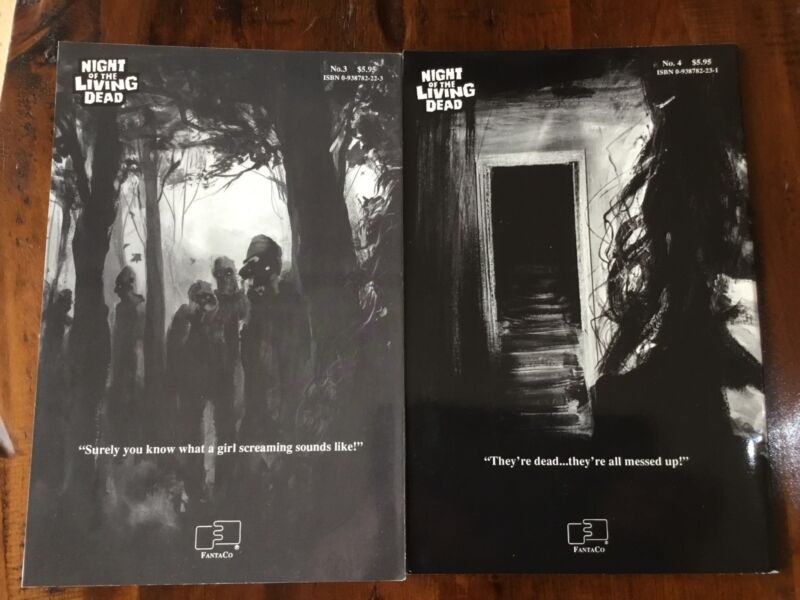Night Of Living Dead-Graphic Novels/