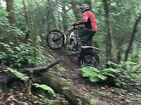 Hire a Trials Bike and ride at our superb Trials park in South Wales.