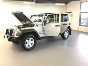 2008 Jeep Wrangler JK MY2008 Unlimited Sport Silver 6 Speed Manual Softtop Frankston Frankston Area Preview