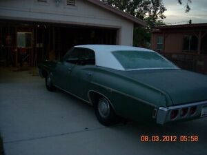 LOOKING FOR A 1967 OR 1968 IMPALA SPORT SEDAN PROJECT