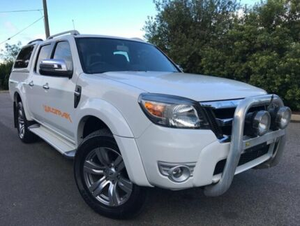 2011 Ford Ranger PK Wildtrak (4x4) White 5 Speed Automatic Dual Cab Pick-up